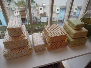 文箱やお弁当箱たち